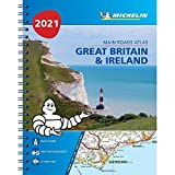 Great Britain & Ireland 2021 - Mains Roads Atlas (A4-Spiral): Tourist & Motoring Atlas A4 spiral (Michelin Road Atlases)