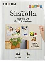 FUJIFILM 写真パネル shacolla(シャコラ) 単品 WD KABE-AL A4