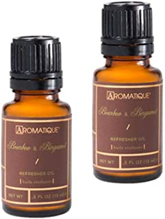 Aromatique Two (2) 1/2 Ounce Refresher Oils Bourbon and Bergamot (2)