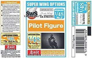 ZKMSWS4802-F01 1:48 Zoukei-Mura Forward Facing Pilot Figure for Ta 152H-1 [MODEL KIT ACCESSORY]