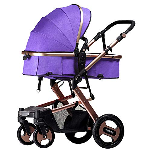 Great Features Of WDXIN Kid's Stroller Pushchair Innovative Frame Heightening Design Foldable and Ea...