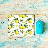 HGOD DESIGNS Lemon Gaming Mouse Pad,Watercolor Lemon Pattern Mousepad Rectangle Non-Slip Rubber Mouse Pads(7.9'X9.5')