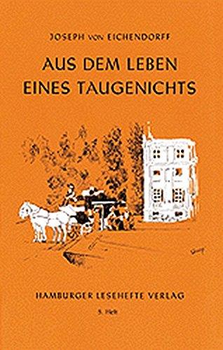 Hamburger Lesehefte, Nr.5, Aus dem Leben eines Taugenichts
