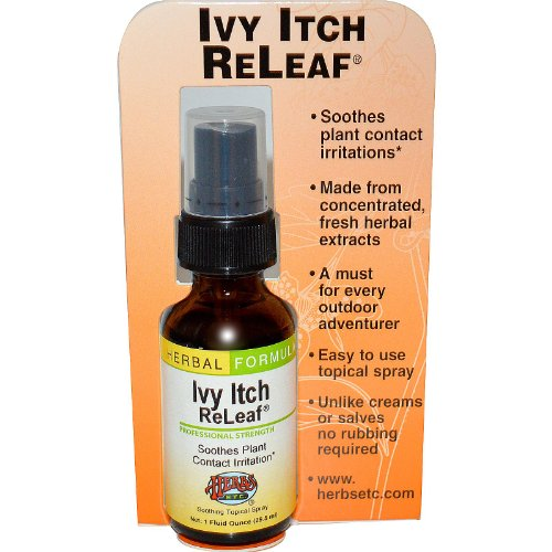 Herbs Etc, Ivy Itch Releaf, 1 Ounce