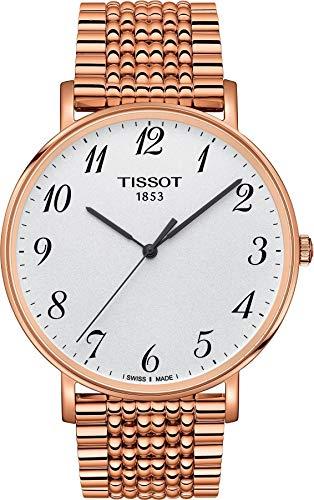 Tissot T-Classic T1096103303200 - Reloj de pulsera (oro rosa), standard