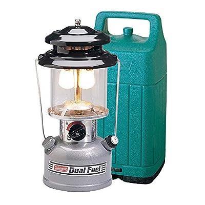 Coleman Premium 700 Lumens Dual-Fuel Camping Lantern with Case