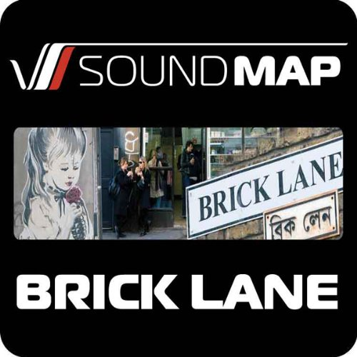 Soundmap Brick Lane audiobook cover art