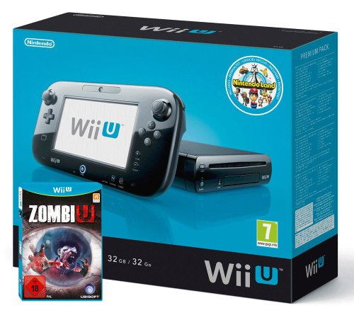 Nintendo Wii U - Konsole, Premium Pack 32 GB + ZombiU und Nintendo Land