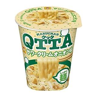 MARUCHAN QTTA サワークリームオニオン味 87g ×12個