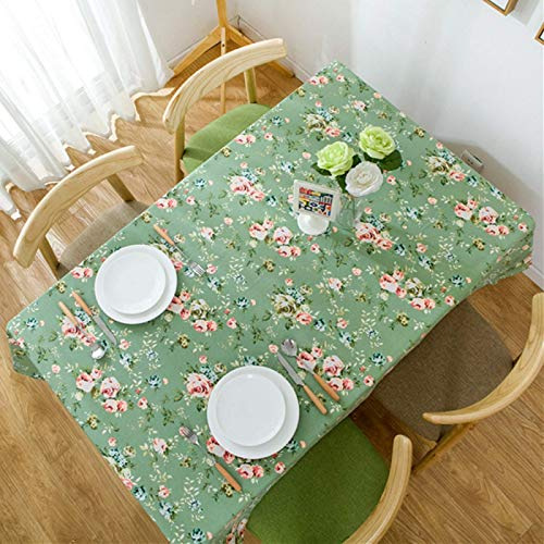 HTUO Home Kitchen Decoration Tablecloth Wipe Clean Christmas Decoration Tabletop Table Cover Pastoral Style Simple Washable Table Cover Kitchen Dinning Party Living Room 60 * 60cm