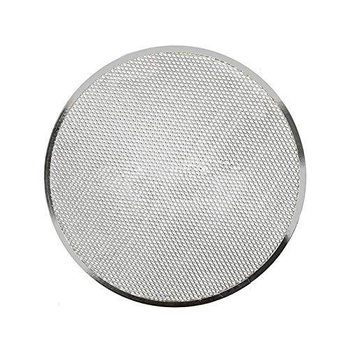 AUTUUCKEE Pantalla de aluminio para hornear pizza, bandeja de pizza sin costuras (9 pulgadas)