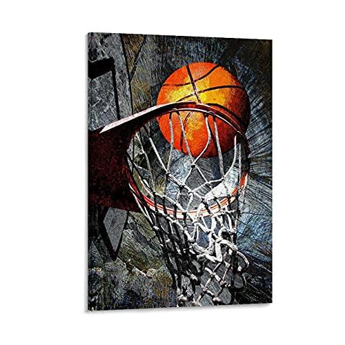 SOROP Póster de baloncesto Art Print 116, cuadro decorativo, lienzo de pared, sala de estar, póster, dormitorio, 30 x 45 cm