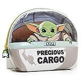 Star Wars Neceser Niño, Neceser Hombre Mujer Diseño Baby Yoda, Bolsa de Aseo Colegio Deporte Viajes, Merchandising Oficial Regalos Originales Para Niños Adolescentes y Adultos