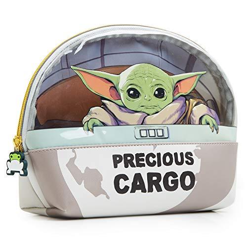Star Wars Baby Yoda Kulturbeutel Kinder, The Mandalorian Waschtasche Groß für Jungen und Mädchen, Kulturtasche Madchen Teenager und Erwachsene, Bad Zubehör