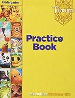 Treasures Practice Book Kindergarten Level 0021936277 Book Cover
