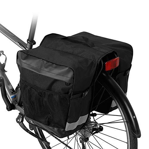 Lixada 28L Borsa da Viaggio per Bicicletta DurevoleGrandecapacititàPortabiciPosteriore per Bici Multi Tasche Borse per Valigie Bagaglio