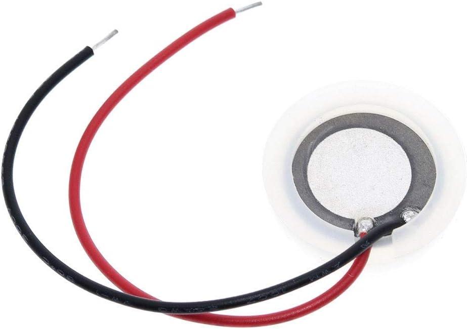 LKK-KK 20 mm 2,4 MHz ultrasónico fabricante de la niebla nebulizador de atomización del transductor piezoeléctrico oscilante de la lámina de cerámica Accesorios humidificador de aire