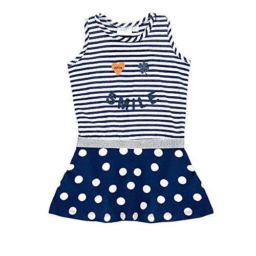 Feetje - Ensemble de sport - Trapèze - Sans Manche - Bébé (fille) - Bleu - 9 mois