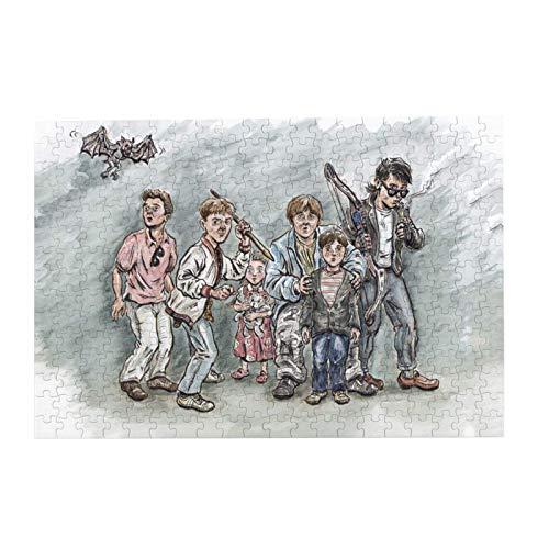 Familien-Spaß, pädagogische Holz-Bilderpuzzle, Spiel The Monster Squad, Kunst-Puzzles 300 Teile für Erwachsene und Kinder