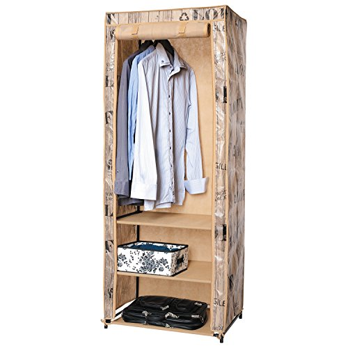 ArtMoon Loft | Armario de tela plegable para ropa - 61x45x155cm