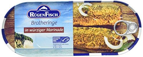 Rügenfisch Bratheringe in würziger Marinade, 6er Pack (6 x 500 g)