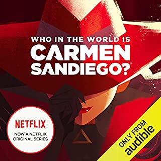 Who in the World Is Carmen Sandiego? audiobook cover art