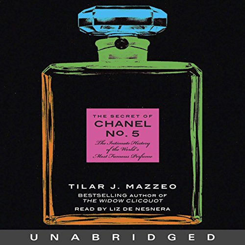 The Secret of Chanel No. 5 audiobook cover art