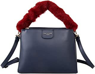 774a65bb4dece Womens Fluffy Handle Grab Bag Red Cuckoo