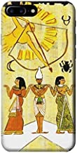 R1227 Ancient Egypt Papyrus Tarot Card Case Cover For iPhone 7 Plus
