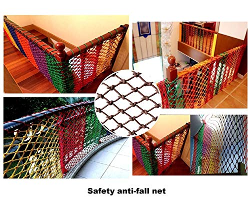 Great Features Of Wlh Children's Protective Net Rope Net, Garden Amusement Park Sports Safety Net Ce...