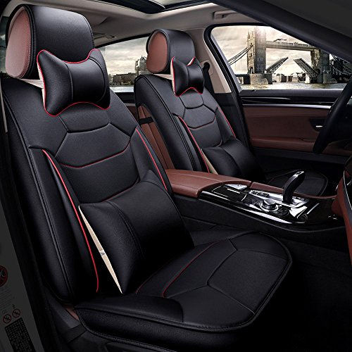 Super PDR 13pcs PU Leather Car Seat Covers