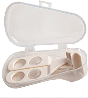 2-in-1 Food Cutter and Masher for Babies - Easy-Grip Single Hand Operation - Hygiene Carry Case
