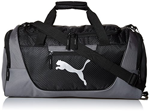 PUMA mens Puma Evercat Contender 3.0 Duffel Bags, Gray/Black, One Size US