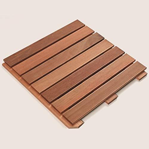 ROG garden-line Premium BANGKIRAI HARTHOLZ BODENFLIESE 50x50 cm
