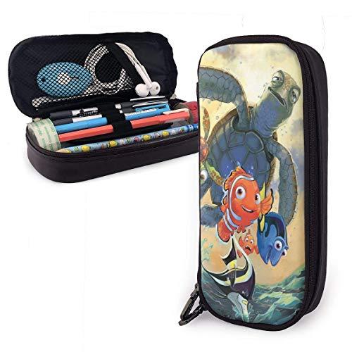 Estuche para lápices Dibujos animados Buscando a Nemo Organizador de papelería de gran capacidad Almacenamiento Bolsa de maquillaje Bolsa Soporte para caja con cremallera