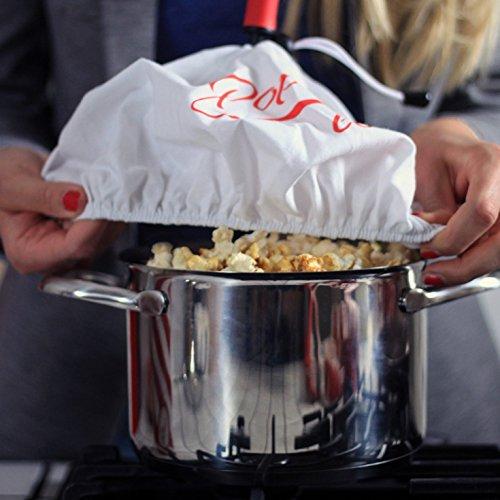 2 x Popcornloop Ersatzhauben – Original + Herzchen Design - 9