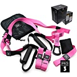 ZN Suspension Trainer Basic Kit Sling Set with Door Anchor Adjustable Home Fitness
