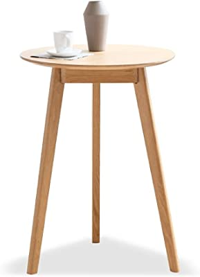 Simple Modern Coffee Table Solid Wood Negotiation Table Nordic Side Table Small Apartment Living Room Coffee Table 55 * 75cm