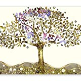 murando - Fototapete 300x210 cm - Vlies Tapete - Moderne Wanddeko - Design Tapete - Wandtapete - Wand Dekoration - Gustaw Klimt Abstrakt der Baum des Lebens l-A-0002-a-c