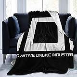 Dongshan Ioi Intive Online Industries Ready Player One Fleece Manta de franela ligera y cálida para...