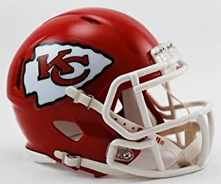 Riddell Kansas City Chiefs NFL Replica Speed Mini Football Helmet