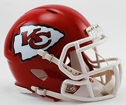 Riddell Kansas City Chiefs NFL Replica Speed Mini Football Helmet