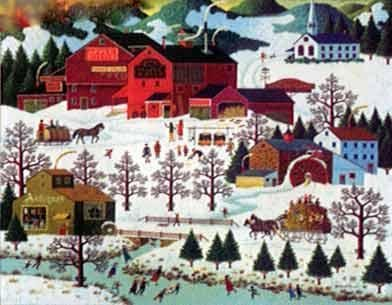 Charles Wysocki Smoke Creek Landing Signed & Numbered with Certificate