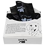 Miyouli 300 Counts Extra Thick Black Biodegradable Pet Poop Waste Bags With Handles for Dogs,Unscented 6