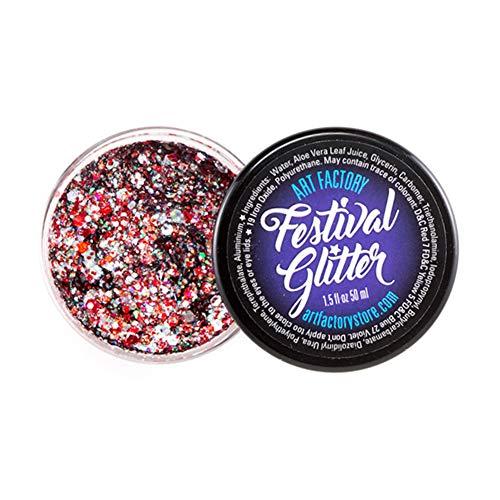 Festival de Arte de fábrica del brillo - Cheer (50 ml / 1 onzas líquidas), cosmética del gel del brillo
