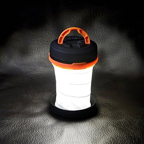 mytlp Lanterne de camping, LED Lampe de tente pliable lumière extérieure lampe de poche double usage alimentation par batterie résistant à l'eau pour la randonnée Pêche pannes Aventures les urgences