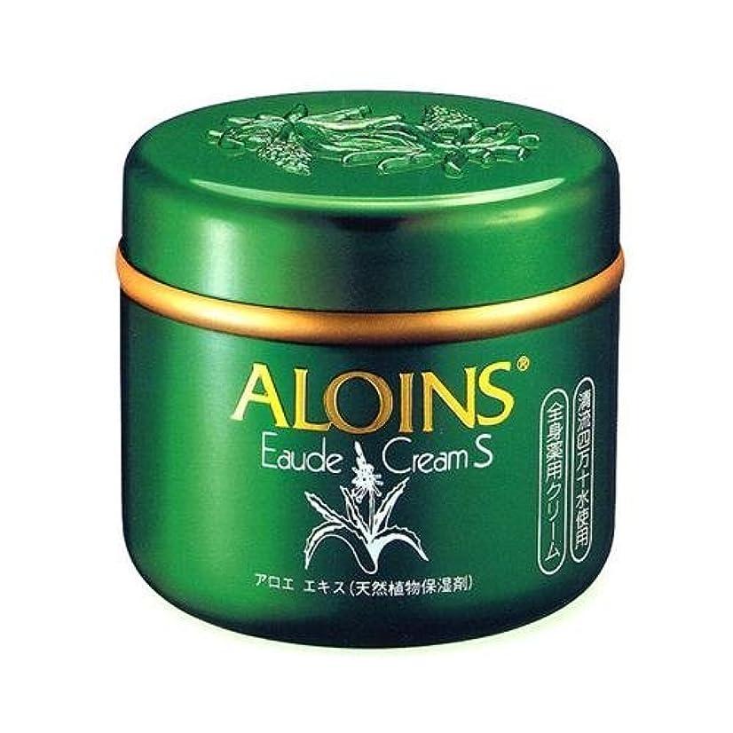 ストライプ健康才能のあるアロインス化粧品 アロインス オーデクリームS185G 医薬部外品 薬用全身用スキンクリーム アロエエキス配合×48点セット (4956962108017)