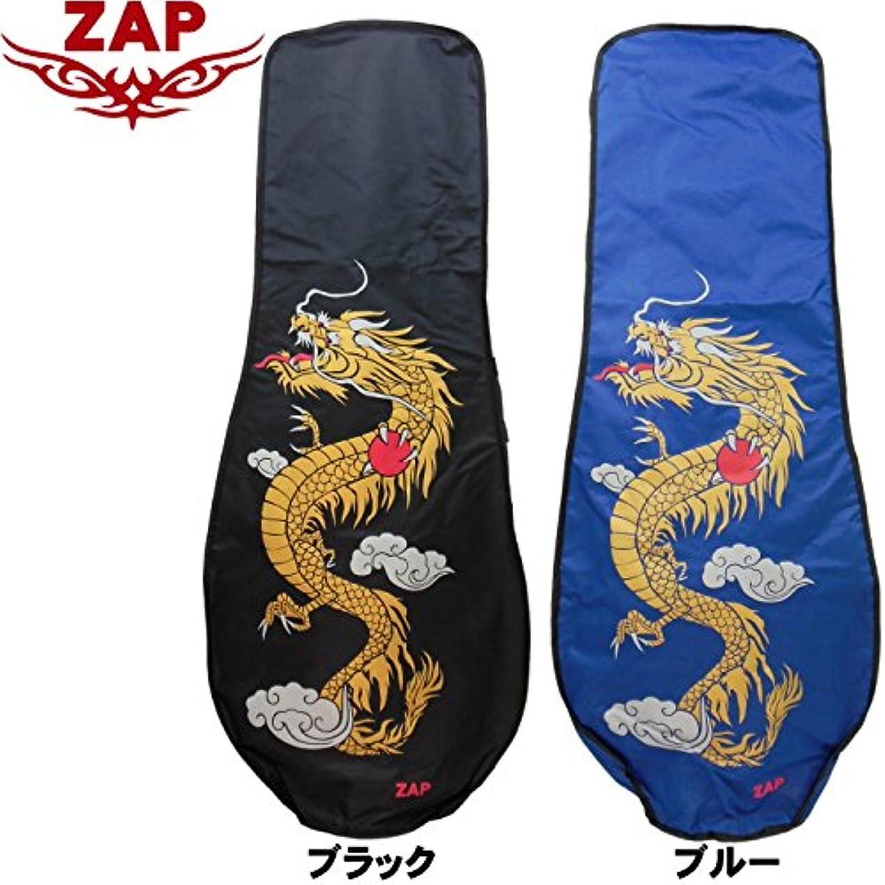 奪う角度矢印ZAP GOLF ザップゴルフ DRAGON 龍 ドラゴン柄 トラベルカバー TC001