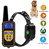elechok Dog Training Collar with Remote for Small Large Dogs Anti Barking Device