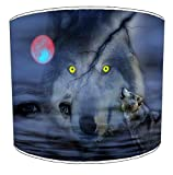 12 Inch Ceiling Wolf lampshade 15